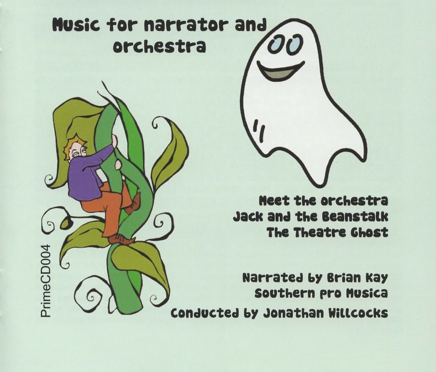 Music for Narrator and Orchestra CD